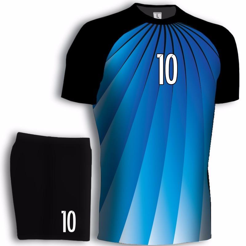 fbe323bb0adbd Camisetas De Futbol Sublimada+ Short Numeradas Kua H9 -   790