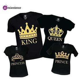 gran descuento hermosa en color boutique de salida Camisetas De King Y Queen Para Parejas Y Familia