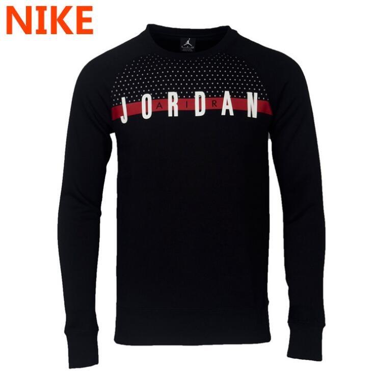 49bdb84c4f5a8 Camisetas De Manga Larga Nike Hombres Air Jordan Graphic Cre ...