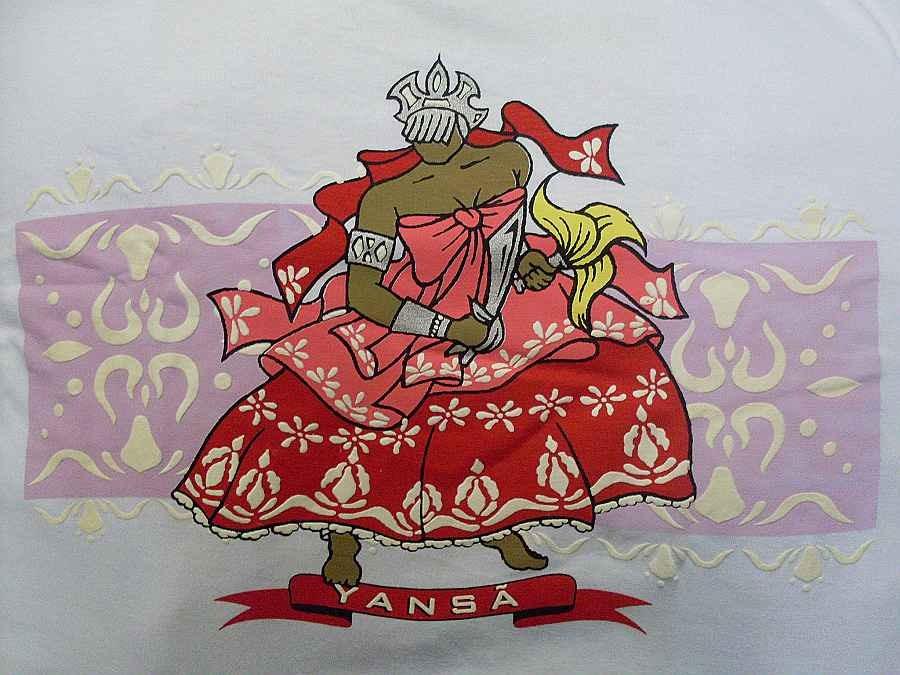 Camisetas De Orixás Umbanda / Candomblé Da Bahia - R$ 65