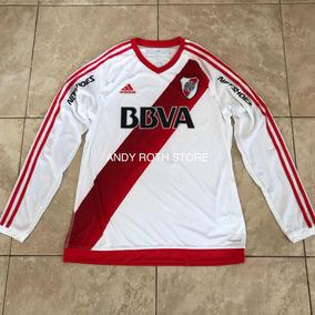 tienda de descuento tecnicas modernas bonita y colorida Camisetas De River Plate 2016 Manga Larga