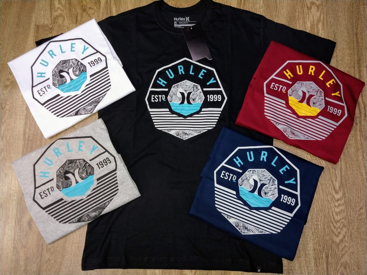 camisetas de surf da marca hurley - original. Carregando zoom. ec4fbb152c9