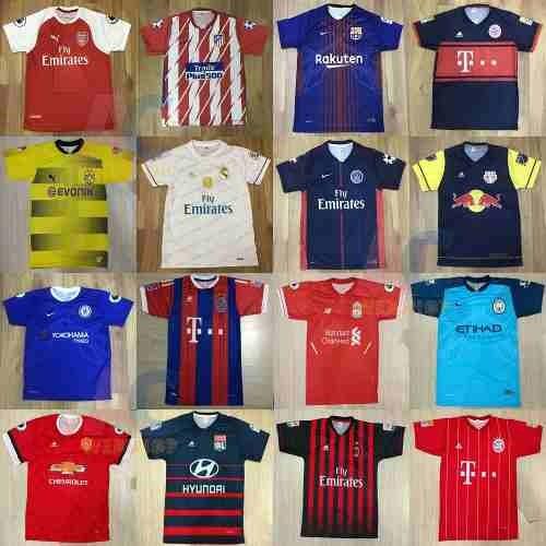 Camisetas De Times De Futebol Nacionais internacionais - R  17 96a786409d2c4