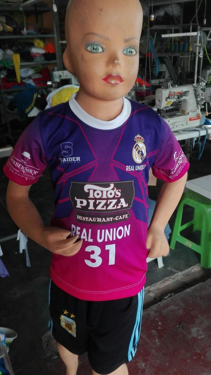 Camisetas Deportiva Niño Sublimado - S  15 424d60cedb3bd