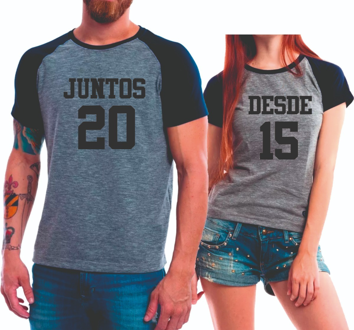 087a74707 camisetas dia dos namorados juntos desde (seu ano) promoção. Carregando  zoom.