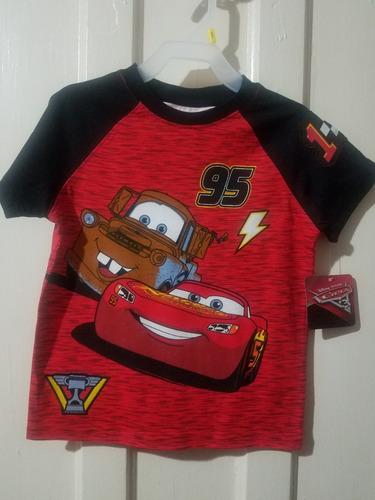camisetas disney cars orginales nuevas niño