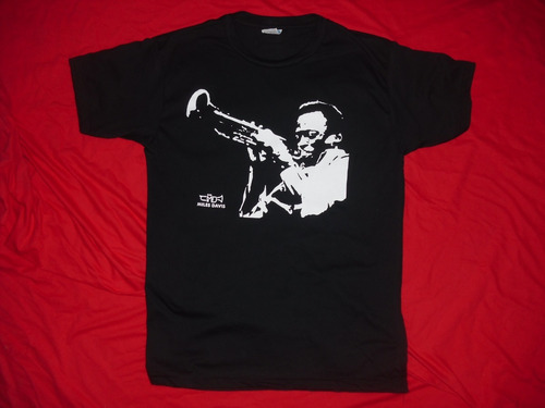 camisetas dizzy gillespie, charlie parker, miles nina simone