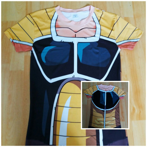 camisetas dragon ball z / compresion / fitness