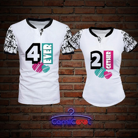 037c2654f Camisetas Personalizadas Enamorados en Mercado Libre Colombia