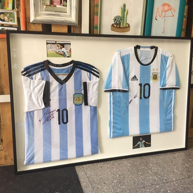 Camisetas Enmarcadas - Taller De Marcos Para Cuadros - $ 500,00 en ...