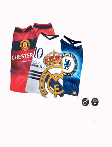 camisetas equipos de fútbol internacionales. (l, manchester)