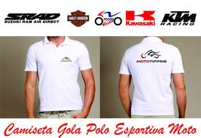 6662bce18d Camisa Polo Esportiva Suzuki no Mercado Livre Brasil