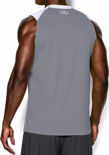 camisetas esqueleto under armour sin mangas