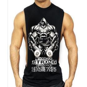 Camisetas Esqueletos Entrenar Gym Arnol Gold Estampadas