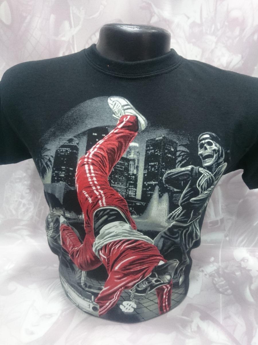 a22ab8c85da50 Camisetas Estampadas Calaveras Break Dance O B Boying -   23.900 en ...