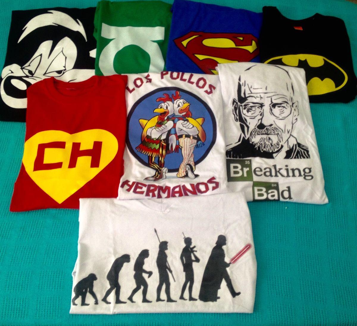 Camisetas Estampadas Con Los Mejores Diseños 528242c86f2dd