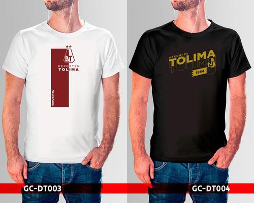 camisetas estampadas deportes tolima  liga águila fútbol