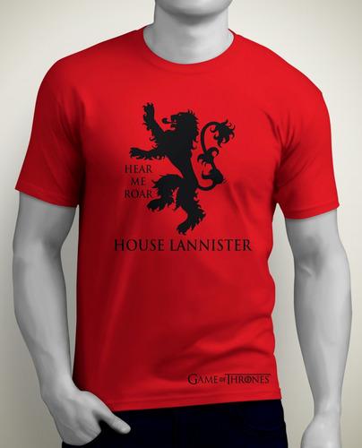 camisetas estampadas game of thrones winter is coming stark