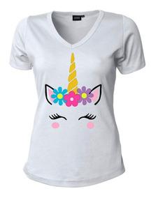 color rápido selección mundial de Tienda online Camisetas Estampadas Para Mujer Unicornio