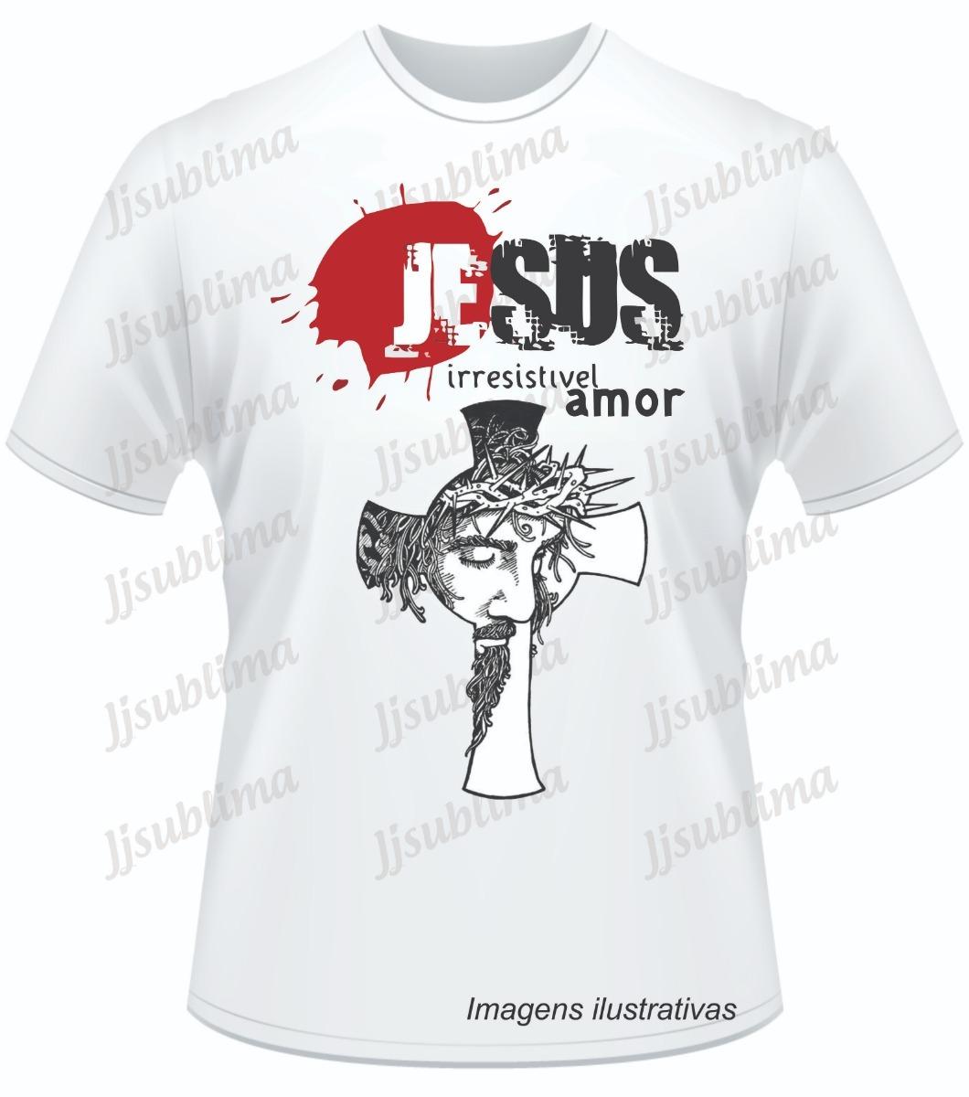 6ec97dd19 Camisetas Estampas Evangélicas Fé - R$ 29,99 em Mercado Livre
