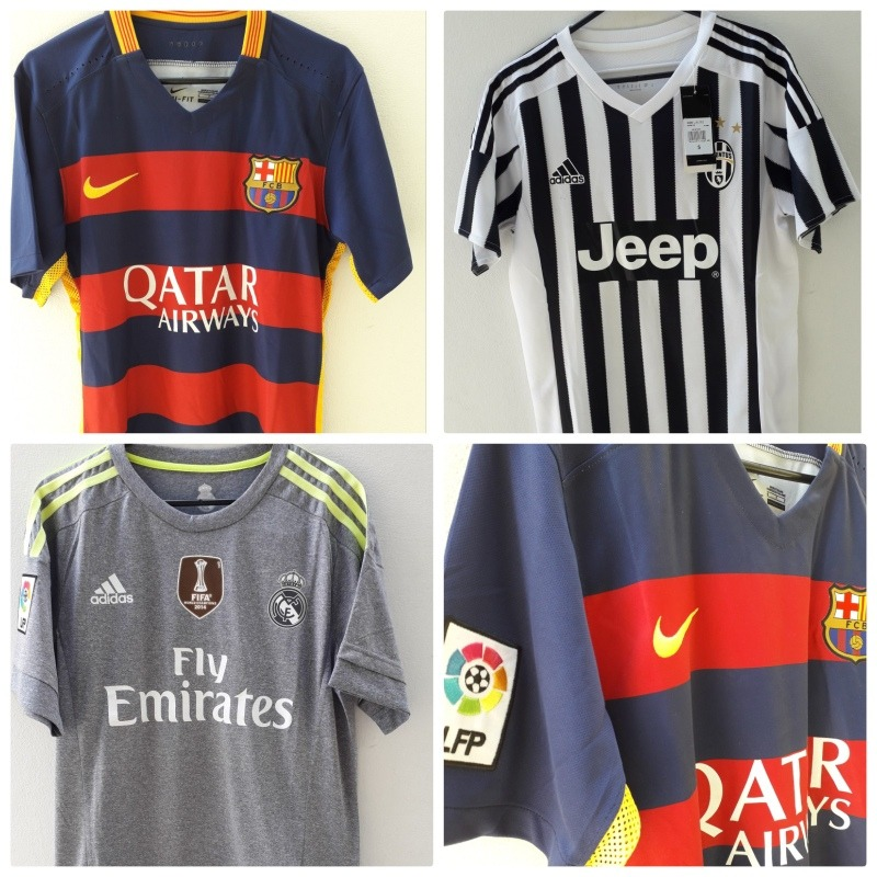 camisetas europeas barcelona real madrid juevenuts. Cargando zoom. 5e1f7b15f7c4d