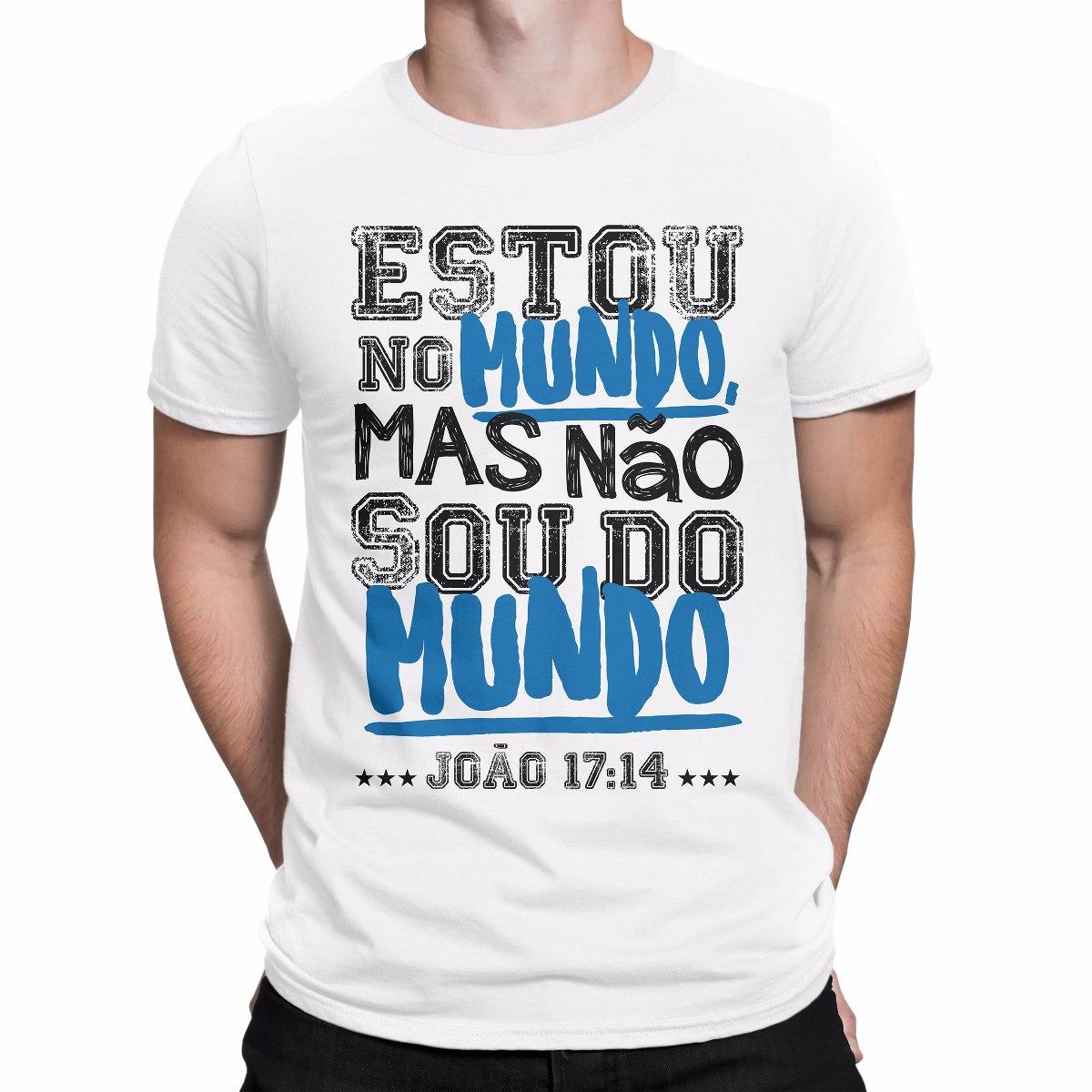 Camisetas Evangélicas Masculinas 26be6853bf7b9