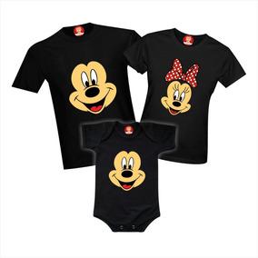 84d0de0b3824 Camiseta Minnie E Mickey Kit Família - Camisetas em São Paulo com o ...