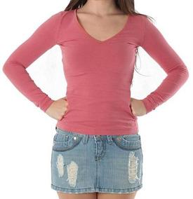 4b1eeaf902 Camiseta Malwee Basica Feminina - Camisetas Manga Longa para ...