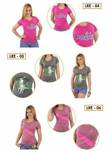 camisetas franelas deportivas para damas por docena