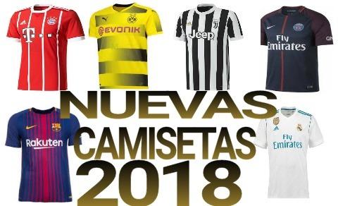Camisetas Futbol Equipos Europeos 2018 Por Mayor O Menor -   349 c0c86b7620ef4