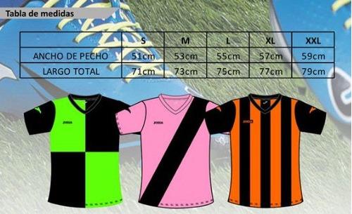 camisetas futbol joma jota personalizable para equipos