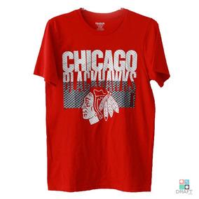 b3424847e Camisa De Hockey Nhl Chicago Roupas - Esportes e Fitness no Mercado Livre  Brasil