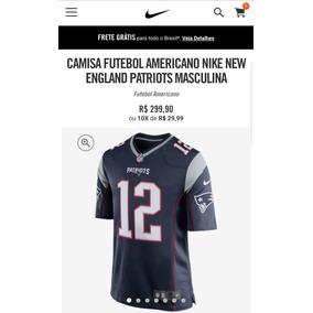 7c985e995807a Camisa Patriots Tom Brady no Mercado Livre Brasil
