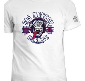 Camisetas Monkey Gas Motos Autos Ink Carros GarageSeries fgmY6Iby7v