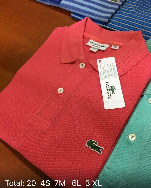 camisetas gola polos lacoste importada original ralph lauren. Carregando  zoom. c04db9da3b7a0