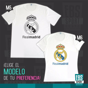 408f934a24327 Camiseta Real Madrid Barcelona Mujer en Mercado Libre Colombia