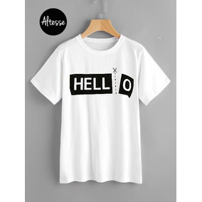 7a535383b0974 Camisetas Con Frases en Mercado Libre Colombia