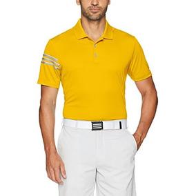 Camisetas Adidas Essentials 3 Stripe Masculina Tipo Polo