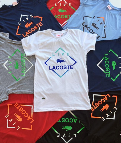 camisetas hombre lacoste ,boss,tommy, polo100% original
