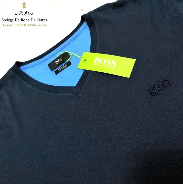 Camisetas Hugo Boss Cuello V - U S 25 36728e60348