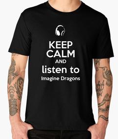 a0ebede63a Camiseta De Imagine Dragons en Mercado Libre México
