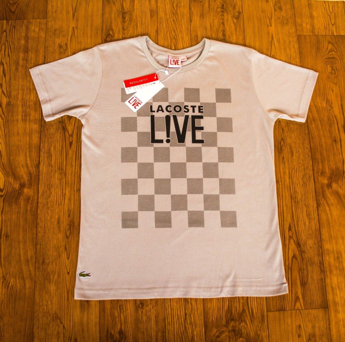 735975a71ce5c camisetas importadas marca lacoste desconto em 3 uni. Carregando zoom.