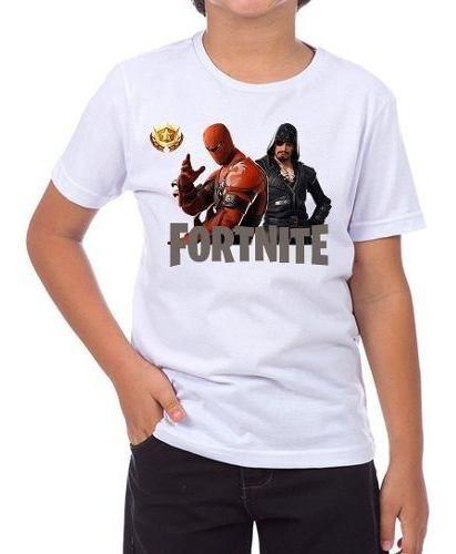 camisetas infantil unissex jogo fortnite 8 temporada 1136