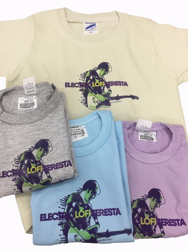 camisetas infantis - electric lo-fi seresta - tam: 1 ano