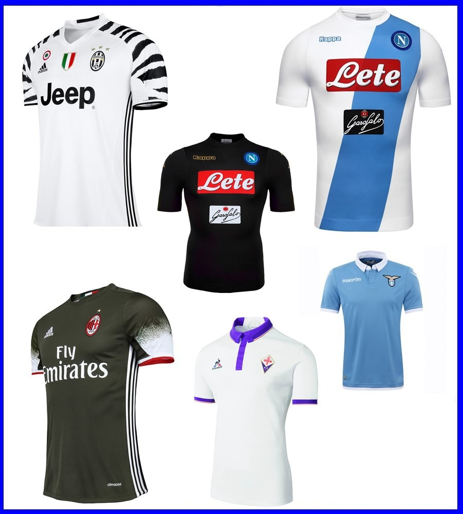 7683db80da70d Camisetas Juventus Inter Milan Napoli Lazio Roma. Encargo ...