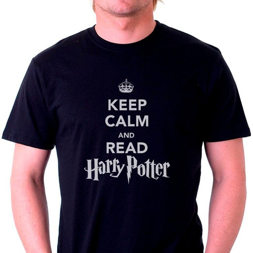 camisetas keep calm and read harry potter