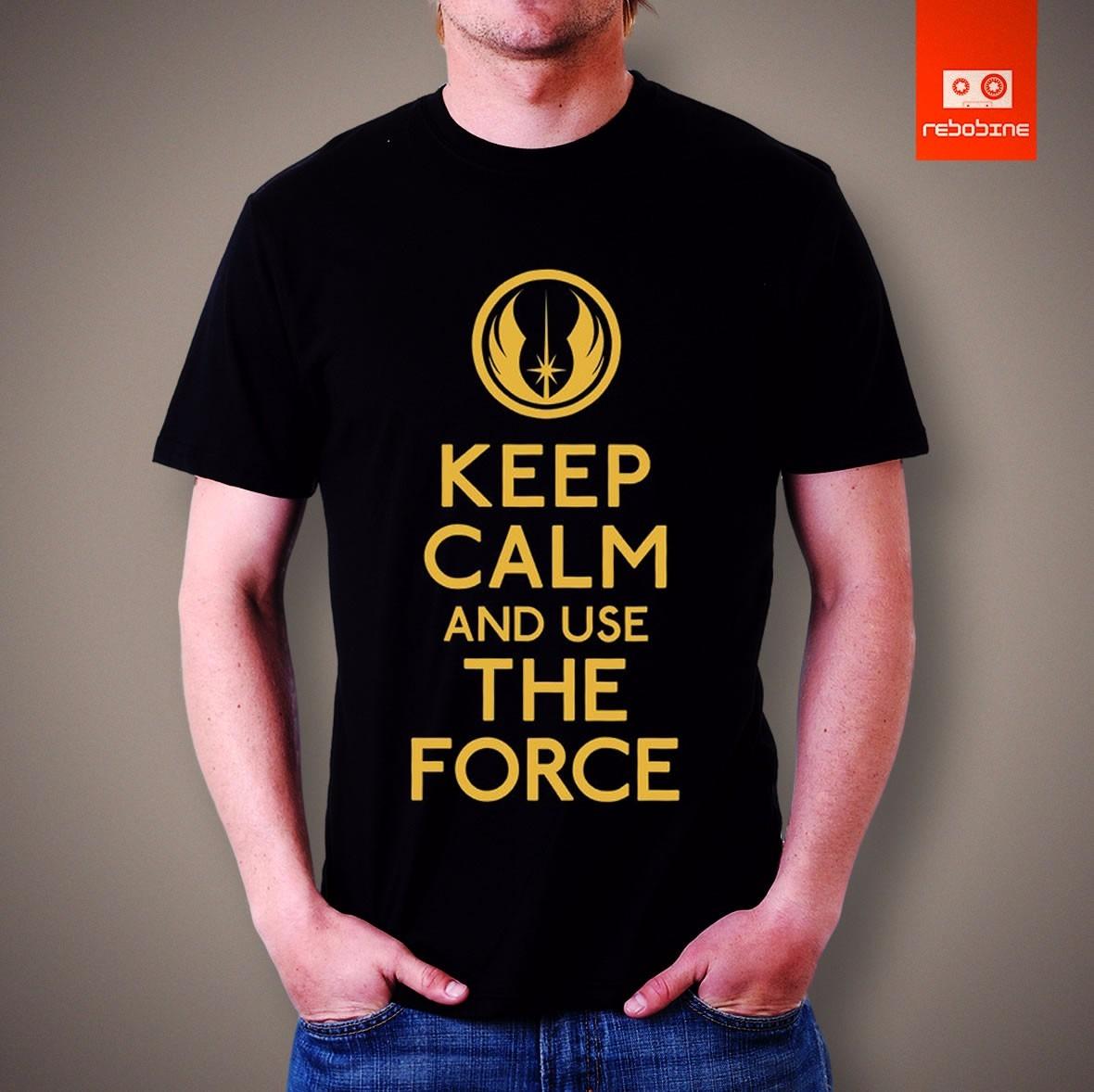camisetas keep calm star wars filme camisa personalizada. Carregando zoom. 9e19de14bfa