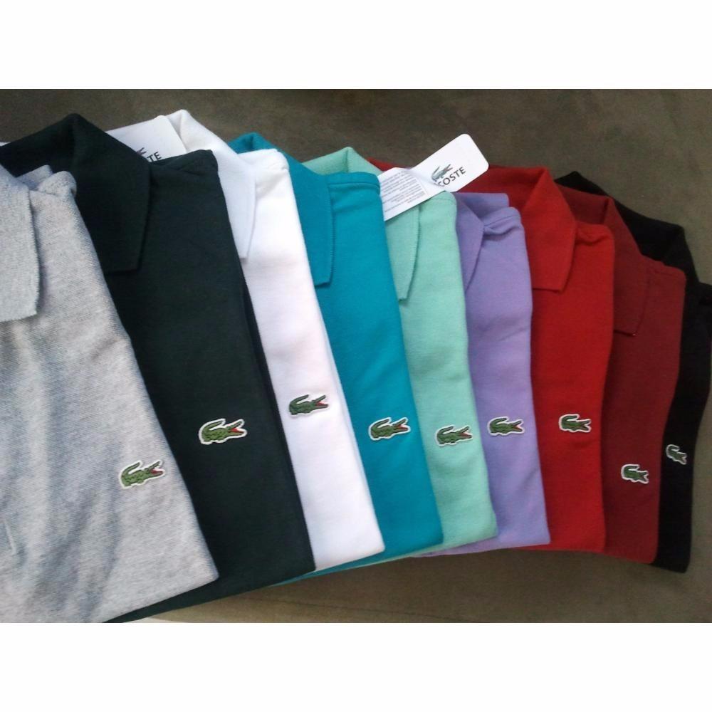 camisetas kit com 10 camiseta polo masculina marcas de grife. Carregando  zoom. cea0fd1561