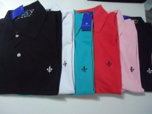 Camisetas Kit Com 10 Camiseta Polo Masculina Marcas De Grife - R ... 5500083f61479