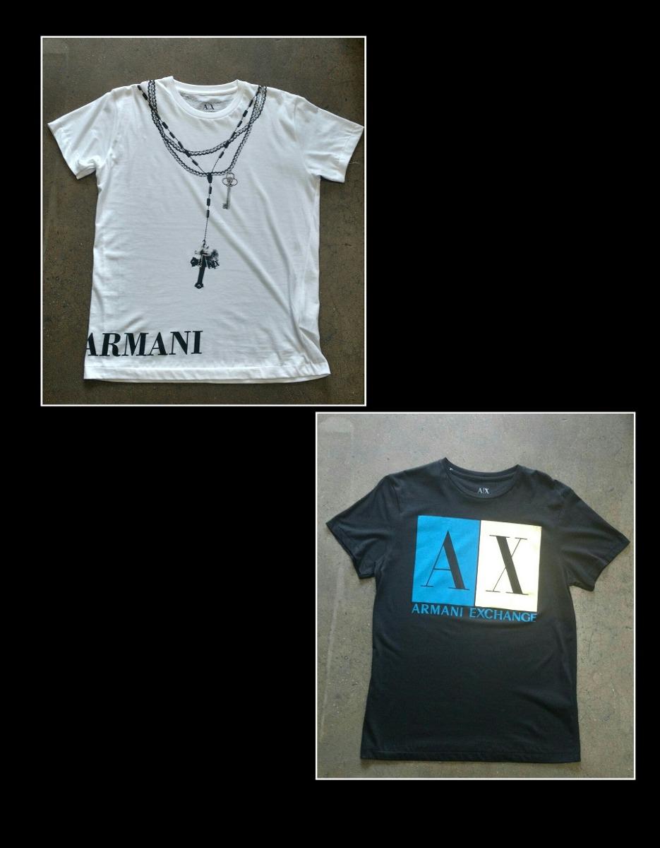 125072ce4c2 ... camisetas armani exchange 100% originais. Carregando zoom.
